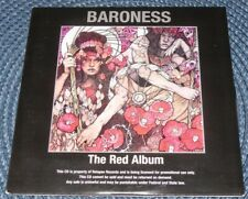 BARONESS ‎– THE RED ALBUM PROMO