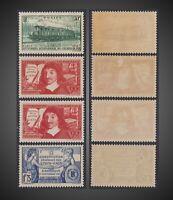 1937 FRANCE LOT ELECTRIC TRAIN DESCARTES 150AN.US CONSTIT. NH H  SCT.327,331-332
