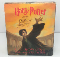 Harry Potter: Harry Potter and the Deathly Hallows Audio NO DISC 2 Preowned