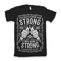 Strong London Grammar Tshirt Album T Shirt Top Daddy Viking Thor Gift Brave