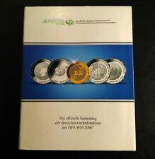 4 Deutsche Silber 10€ Gedenkmünzen Fifa Weltmeisterschaft 2006