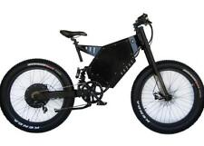 Stealth Bomber 7000 FAT, Electric Bicycle 7000w/72v Ebike MTB Enduro 50mph80kmh