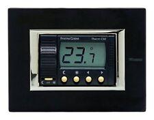 Termostato ambiente elettronico da incasso FANTINI COSMI C50 Color Antracite
