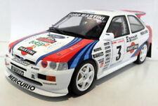 Modellini statici di auto da corsa Rally scatola chiusa in plastica per Ford