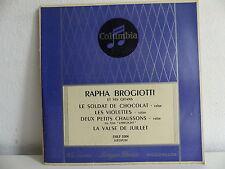 RAPHA BROGIOTTI et ses gitans Le soldat de chocolat ESRF 1004