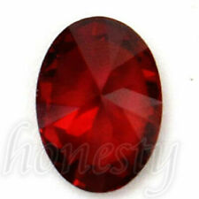 2x Oval Shape Cut Red Ruby Mozambique Loose Gemstone Stone7x5mm