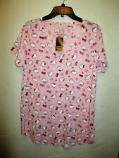 dc4c80bb1 Plus Size 0X TORRID Hello Kitty Pink T-Shirt with Hearts, Nwt, Womens