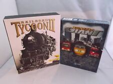 Railroad Tycoon 2 + Traffic Giant (Strategy Games for the PC) Big Box