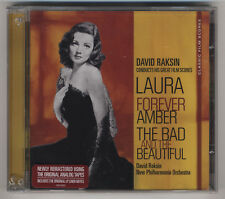 David Raskin Film Scores - Laura / Forever Amber / The Bad And The Beautiful
