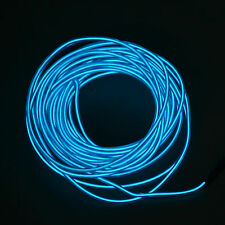 5M Battery Operated Luminescent Neon LED Lights Glow EL Wire String Strip Rope