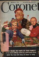 1948 Coronet March - Arthur Szyk; Pictorial features of India and California;