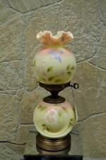 "Fenton Lamp YELLOW BURMESE SATIN - Bluebird 8908A6 #d 136/1250 18""  Free48stSHIP"