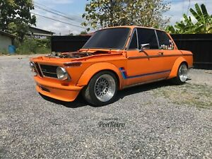 pon retro Fender Flares wide body Steel Fit for BMW 02 SERIES 2002 TURBO