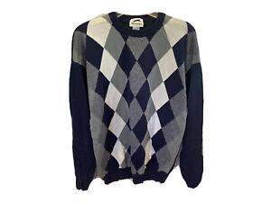 Slazenger Vintage Masters Sweater Large Augusta National Golf Shop Mens