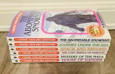 Lot of 6 CHOOSE YOUR OWN ADVENTURE Books #1 2 3 4 5 6 Montgomery Vintage rare