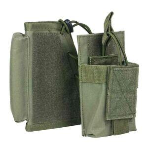VISM Rifle Stock Cheek Riser w/ Magazine Pouch HOOK/LOOP Tactical Hunt ODG~