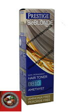 Hair Blond Bleached Grey Gray Toner Colorant Color Dye No Ammonia Peroxide 100ml BB 04 Pearl