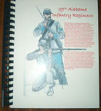 Civil War History of the 29th Alabama Infantry Regiment