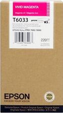 Epson T603300 (T6033) 220 ml Vivid Magenta K3 Ink Cartridge (Expires Dec 2011)