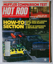 HOT ROD MAGAZINE VINTAGE 1973 OCTOBER CORVETTE CHEVY FORD MOPAR GM RACING
