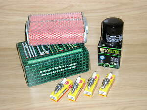 CBR1000 F Service Kit CBR 1000 FH-FX 87-99 Air Filter Oil Filter Spark Plugs