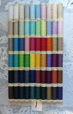 60 different colors GUTERMANN 100% polyester thread 110 yards each Spool (#1)