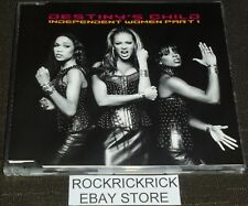 DESTINY'S CHILD - INDEPENDENT WOMEN PART 1   -4 TRACK CD-  MADE IN AUSTRALIA