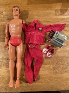 kenner six million dollar man Figure Engine Suit Sneakers