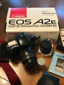 Canon EOS A2E cameras for parts