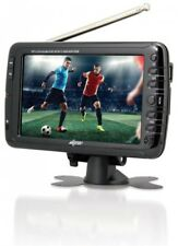 Axess 7-Inch LCD TV With ATSC Tuner Rechargeable Battery And USB/SD Inputs