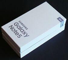 NEW Empty Retail Box PACKAGE SAMSUNG GALAXY NOTE 5 N920 N920A N920T N920V N920P