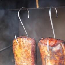 5PCS Long Pointed S Hooks Rack Butcher Meat Stainless Steel Hanger lasting #HN