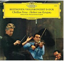 Beethoven: Concerto Per Violino / Karajan, Ferras, Berliner - LP Dgg