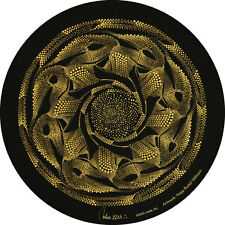"STICKER Dot Painting ""Naja Portal Stillness"" Digital Art Print 200mm Circle"