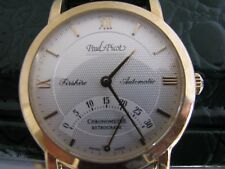 Paul Picot 192 Firshire Retrograde 18K Rose gold Men's Watch New