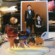 ARASHI Live Tour Ohno Satoshi Ohno Ninomiya Kazunari Acrylic Display Figure Home