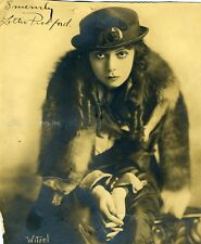 LOTTIE PICKFORD - PHOTOGRAPH SIGNED