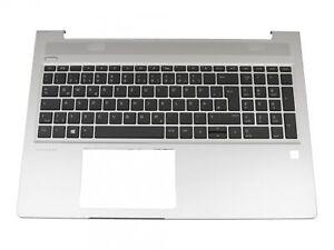 HP ProBook 450 G6  original Tastatur inkl. Topcase DE (deutsch) schwarz/silber m