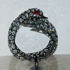 Amazing! JARIN Black plated Brass Bangle Bracelet
