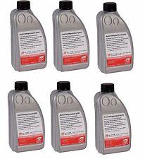 NEW Set of 6 Bottles Transmission Fluid OEM G052162A2 Fits Audi VW