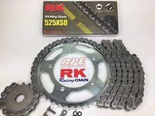 2014-2017 Yamaha FZ-09 RK 525xso OEM Natural Chain and Sprocket Kit