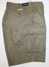 Polo Ralph Lauren Big and Tall Mens Mountain Green Cargo Shorts NWT Waist 42 T
