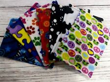 7x Guinea pig and small animal WATERPROOF pee pads made by ATALAS, multicolour