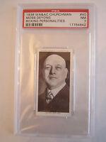 1938 MOSS DEYONG BOXING CHURCHMAN PSA GRADED 7 NEAR - MINT CARD