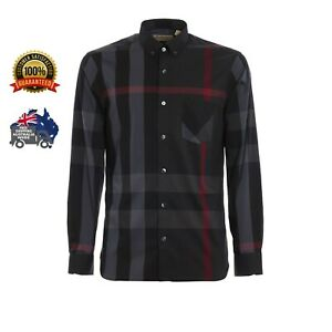 Brand New BURBERRY Men's Thornaby Long Sleeve Shirt with Tags