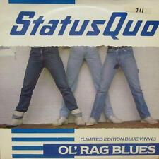 """Status Quo(Blue 7"""" Vinyl)Ol'Rag Blues-Vertigo-QUO 11-France-Ex/Ex"""