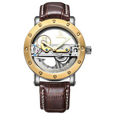 IK Colouring Perspective Men's Automatic Mechanical Wristwatch Skeleton Watches