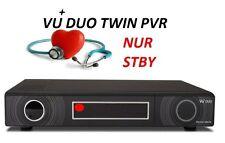 Vu+ DUO  DVB S2 HD TWIN PVR Receiver Reparaturen Angebot ! NUR LED IST STDBY !!