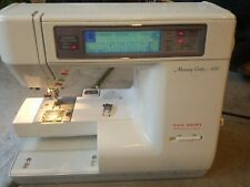 New Home •  MEMORY CRAFT 8000 MC8000 Computerized Sewing Machine  READ