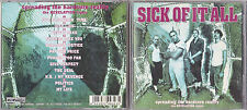 CD 12T SICK OF IT ALL SPREADING THE HARDCORE REALITY THE REVELATION TAPES 1994